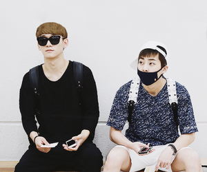 xiumin, Chen, and exo image