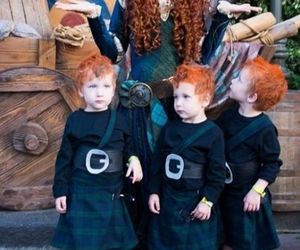 brave, merida, and disney image