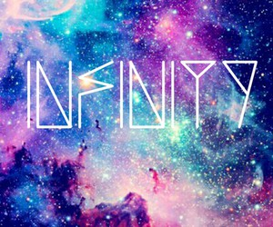infinity and galaxy image