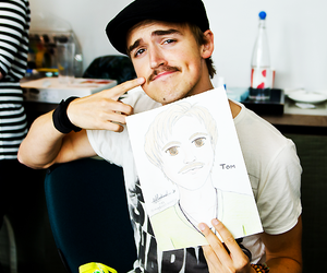 McFly, tom fletcher, and mustache image