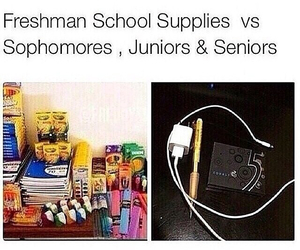 funny, highschool, and true image