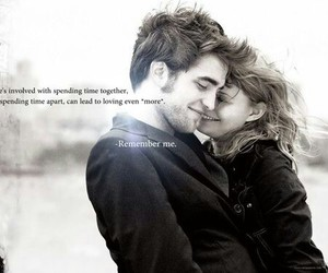 black and withe, distance, and kiss image