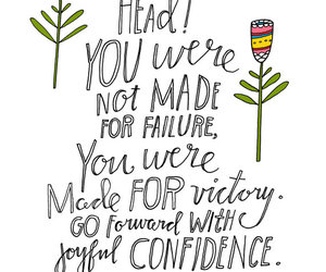 quote, confidence, and victory image