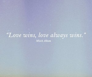 love, quotes, and mitch albom image