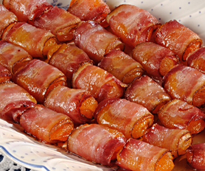 bacon, delicious, and food image