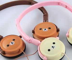 headphones, japan, and kawaii image