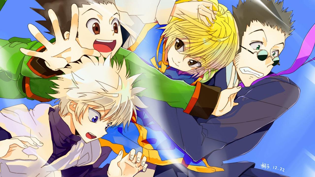 Kurapika Gon Killua Leorio Hunter X Hunter 2011 Anime Hd