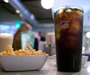 food, coca cola, and drink image