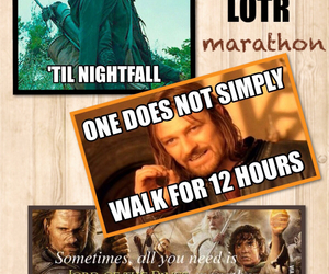 LOTR, fellowship of the ring, and the two towers image