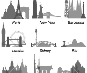 background, Barcelona, and london image