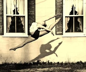 girl, beautiful, and dance image