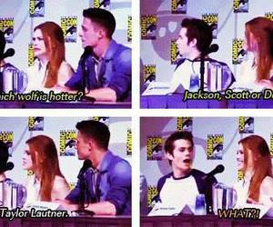 teen wolf, holland roden, and Taylor Lautner image