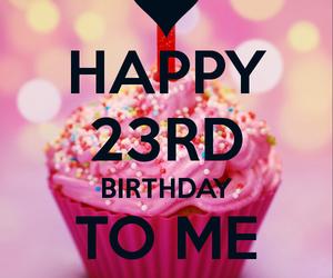 23 and happy birthday image