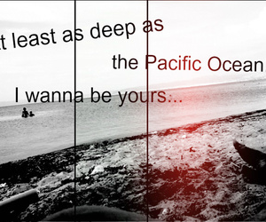 i wanna be yours, arctic monkeys, and sea image