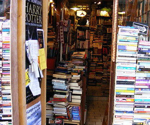 bookstore and harry potter image