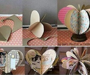 diy, heart, and gift image