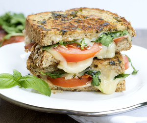blt, grilled cheese, and herbs image