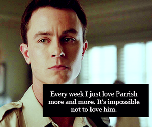 teen wolf, parrish, and deputy parrish image