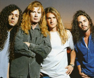 megadeth, dave mustaine, and nick menza image
