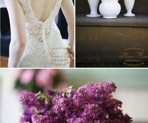 dress, femininity, and wedding image