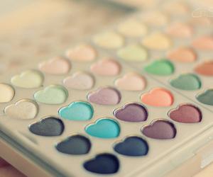 heart, art, and makeup image