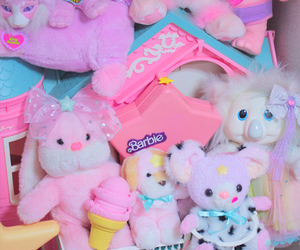 pastel and toys image