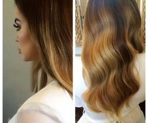 hair and khloe kardashian image