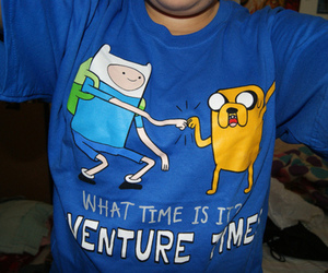 blue, double chin, and finn image