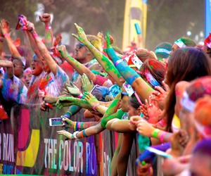 fun, color run, and fest life image