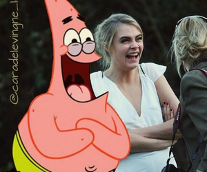 cara, laugh, and delevinge image