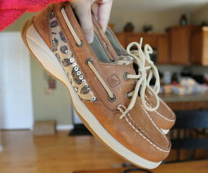 sperry, cheetah, and love image