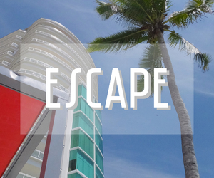 escape and summer image