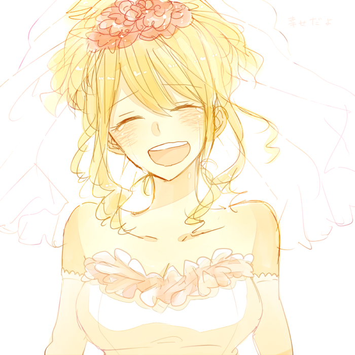 Lucy Heartfilia Wedding Dress | www.pixshark.com - Images ...