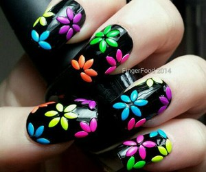 colorful, flowers, and designs image