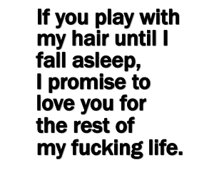 love, hair, and promise image