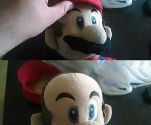 funny, mario, and lol image