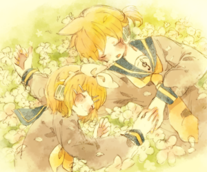 twins and love image