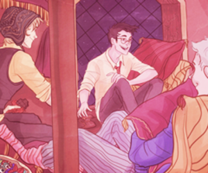 marauders, harry potter, and hp image