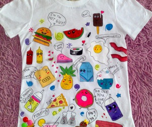funny, t-shirt, and cute image