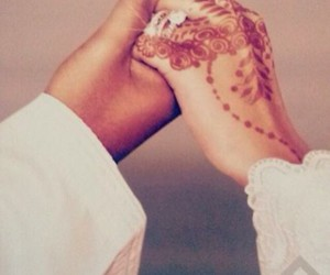 henna, cute, and love image