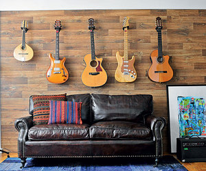 guitar, music, and decoracao image