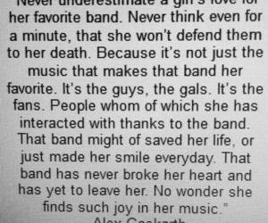 band and fangirl image
