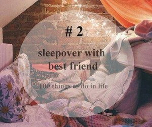 best friend and sleepover image