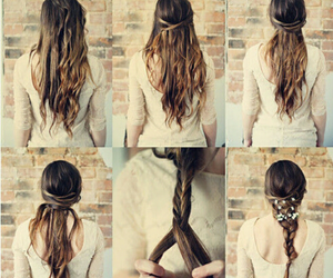 beautiful, braid, and braided image