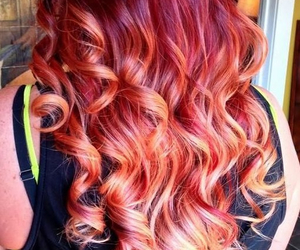 curly, hairstyle, and hair image