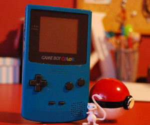 game, gameboy, and mew image