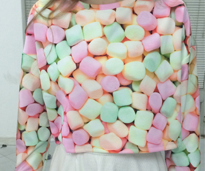 candy, outfit, and pink image