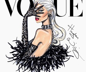 vogue, hayden williams, and drawing image