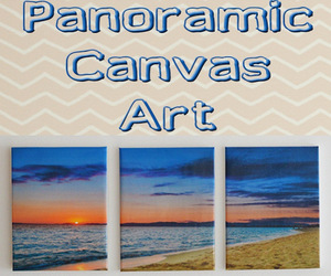 art, beach, and canvas image