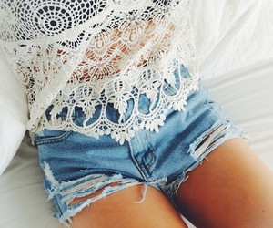fashion, summer, and outfit image